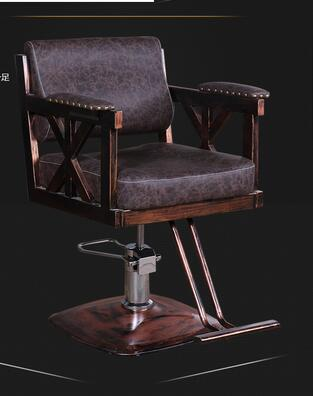 Купить с кэшбэком Barber Shop Chair Salon Hair Chair High-grade Hairdressing Chair Lift Rotating Haircut Chair Factory Direct.