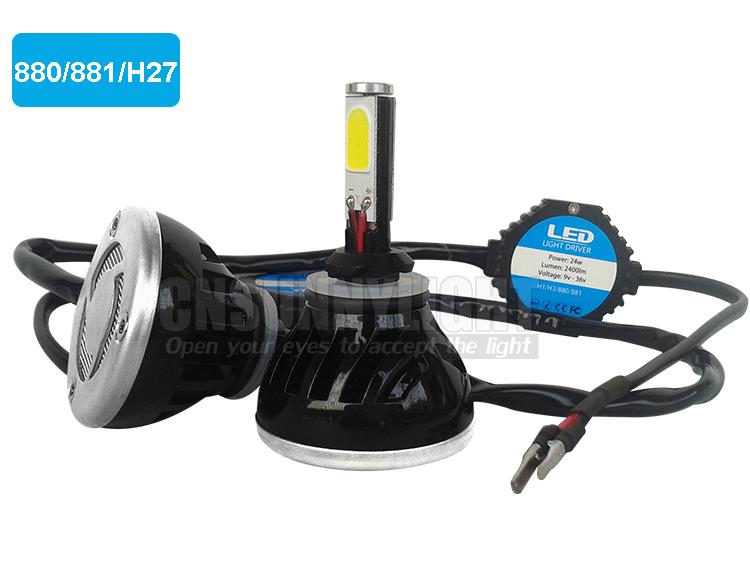 H4 H7 H13 H11 H1 9005 9006 COB LED Headlight 80W 8000LM Super Brigh Car LED Headlights Bulb Head Lamp Fog Light Pure White 6000K (2)