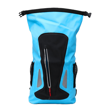 Outdoor River Trekking Shoulder Strap Ultra Light Dry Drifting Kayak Blue Swimming Bag Outdoor Camping Waterproof Bag light blue cold shoulder thin strap top