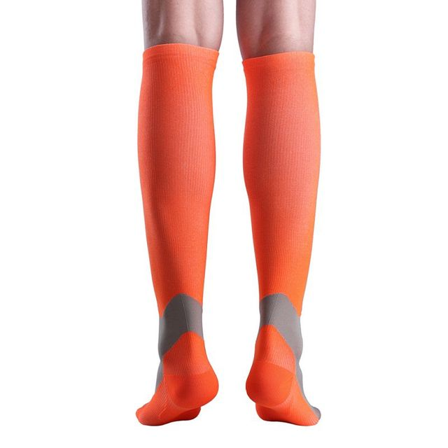 5287d17f6b7 1 Pair Comfortable Long Sleeve Sock Men Women Compression Stockings Soft  Breathable Miracle Leg Stretch Covers