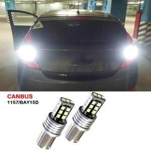 Canbus 1157 LED BAY15D Cauda Parar Luz de Freio Reverso Lâmpada de Sinal Para Hyundai Tucson Accent Elantra Santa Fe Sonata Coupe gênese