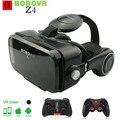 Caixa vr 2.0 bobovr z4 mini 3d óculos de realidade virtual óculos google papelão vr bobo com fone de ouvido para 4.3-6.0 polegada smartphones