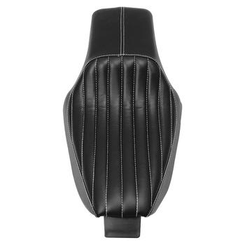 Motorcycle Driver Front Rear Passenger Seat Two Up Seat Black Fit For Harley Sportster XL883 XL1200 Iron 04-16