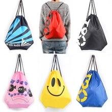 Высококачественный нейлоновый водонепроницаемый рюкзак, удобный для практичной Туристическая сумка со шнурками, сумка для спорта на открытом воздухе