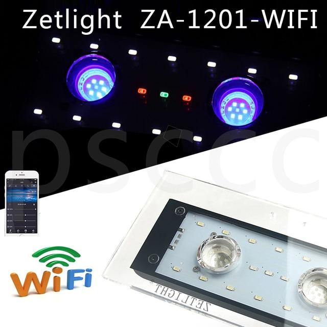 ZA1201 WIFI Aquarium Koraalrif WIFI LED Grow Licht voor Aquarium ...