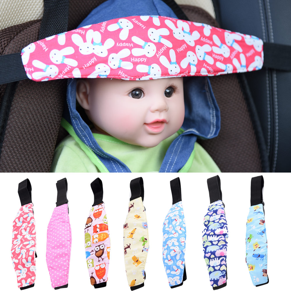 Infants And Baby Head Support Pram Stroller Safety Seat Fastening Belt Adjustable Playpens Sleep Positioner for baby