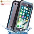 Caso original para iphone 6 s à prova d' água ip68 subaquática magro metal de alumínio caso capa protetora à prova de vida água para iphone 6