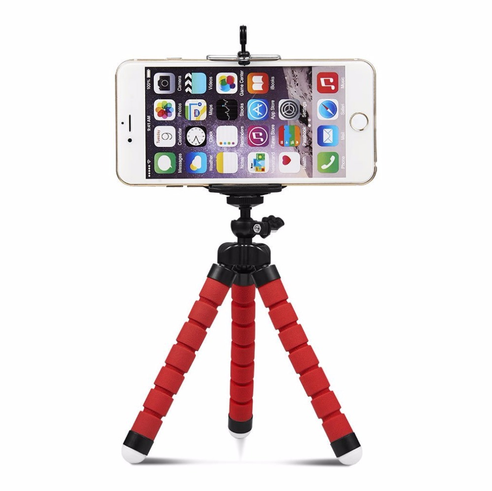 Quality Wrumava Flexible Octopus Leg Phone Holder For Iphone X 8 7 Plus Flexible Tripod Bracket Selfie Stand Mount For Huawei Smartphone Excellent In