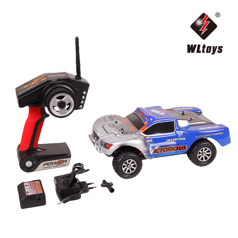 WLtoys A969-B 1:18 Electric 4WD RC Buggy Remote Control Car Radio-controlled Cars Highspeed RC Car 70km/h Off Road Truck china remote control dune buggy huanqi rc cars electric car baby amphibious four wheel drive hummers car with brake lights music