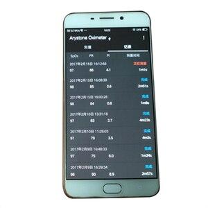 Image 2 - וטרינרית כף יד דופק Oximeter oximetro עבור אנדרואיד טלפון עם פונקצית OTG וטרינר Pulsioximetro צג USB APP 1 חיישן