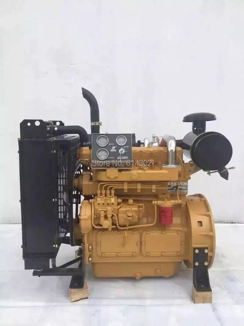 China weifang diesel engine 56kw Ricardo ZH4105ZD for 50kw generator set/genset