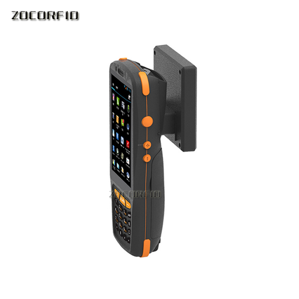 Handheld Pos Terminal With NFC UHF RFID Reader /UHF Handheld Reader Data Terminal 1D,2D Laser Barcode Scanner