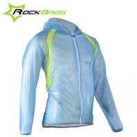 2015 New Arrival ROCKBROS MTB Waterproof Outdoor Sports Windproof TPU Raincoat Cycling Jersey Wind Coat Bike