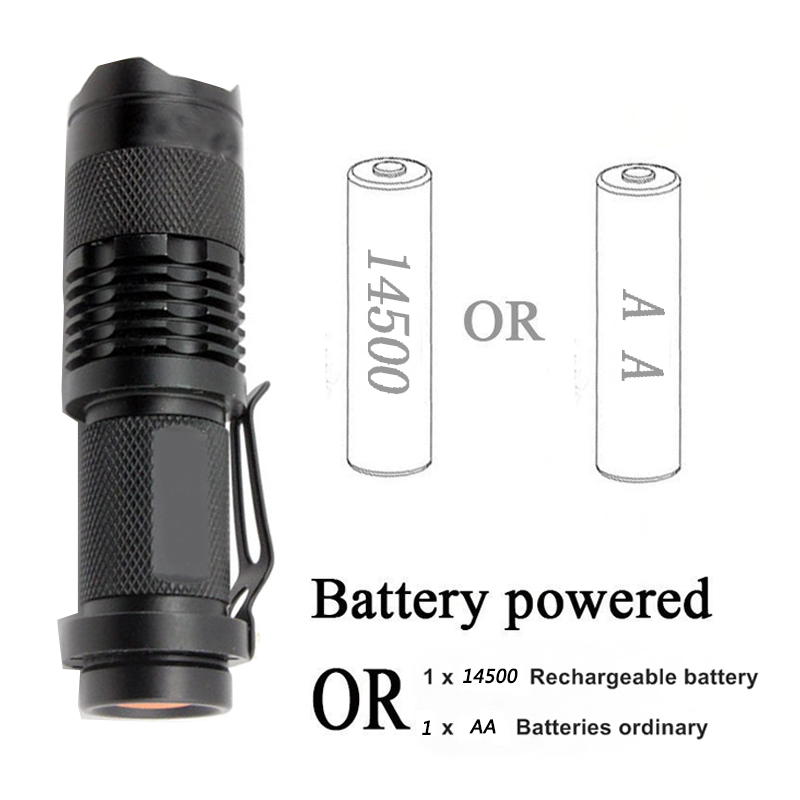 z10 LED Flashlight Waterproof CREE XM- L T6/Q5 / Aluminum lanterna Zoomable Portable Torch lights For Camping Outdoor lighting