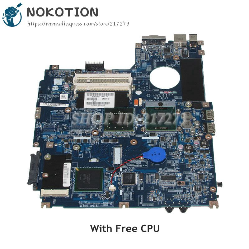 NOKOTION For Dell Vostro 1510 V1510 Laptop Motherboard JAL30 LA-4121P CN-0J475C 0J475C J475C 965GM DDR2 Free CPU цена