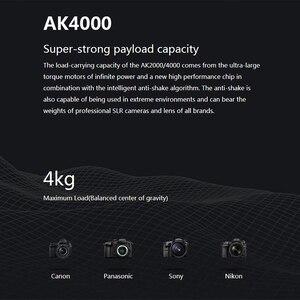 Image 4 - FeiyuTECH AK2000 AK4000 3 Trục Ổn Định Camera Handhel Gimbal Cho Sony Canon 5D Panasonic GH5 Nikon Estabilizador De Camera