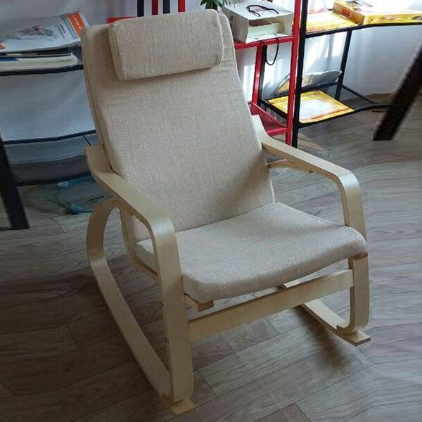 Kussen Voor Schommelstoel.Comfortabele Relax Schommelstoel Zweefvliegtuigen Lounger Linnen
