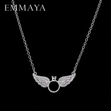 EMMAYA Brightly New Statement Choker Necklace Angel Wings Pendants Necklaces for Women Gifts(China)