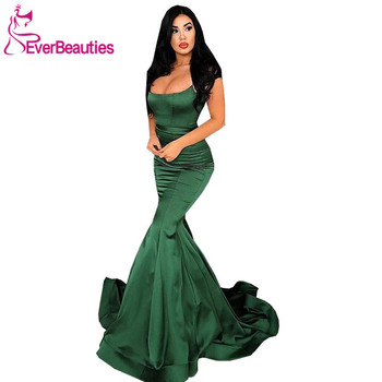 Robe De Soiree Mermaid Evening Dresses Long 2020 Evening Party Dresses Prom Gown Abiye Gece Elbisesi Formal Dress abendkleider prom gown khaki full sleeves mermaid evening dresses 2019 peplum abiye robe de soiree elegant evening dress long