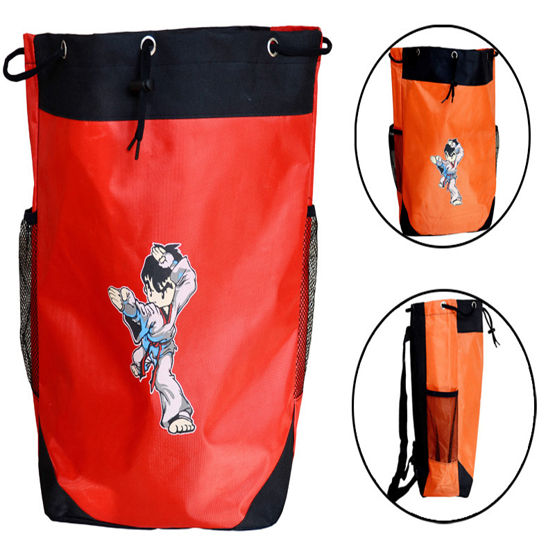 Discreet Taekwondo Backpack Training Bag Gym Sport Rope Shoulder Children's Taekwondo Bag Taekwon Do&running Light Unisex Waterproof Aesthetic Appearance