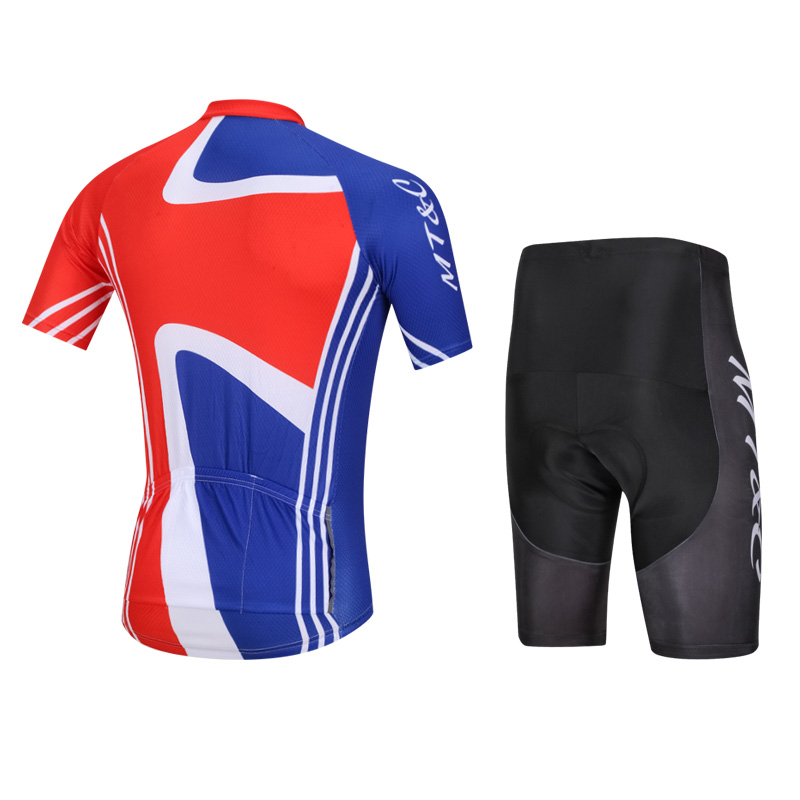 f5d0b973a MT C Man Cycling Jersey Set Red Black Blue Breathable Quick Dry 9D Gel Pad  Bicycle Team Summer Cycling Clothing Bike Clothes-in Cycling Sets from  Sports ...
