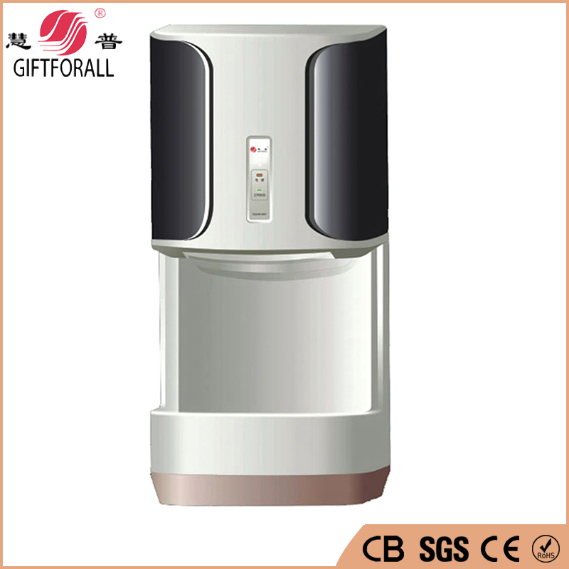 GIFTFORALL Hot Sale Household Hotel Automatic Infrared Sensor Hand Dryer Bathroom Hands Drying Device Skin Body Dryer HP-9688 BB