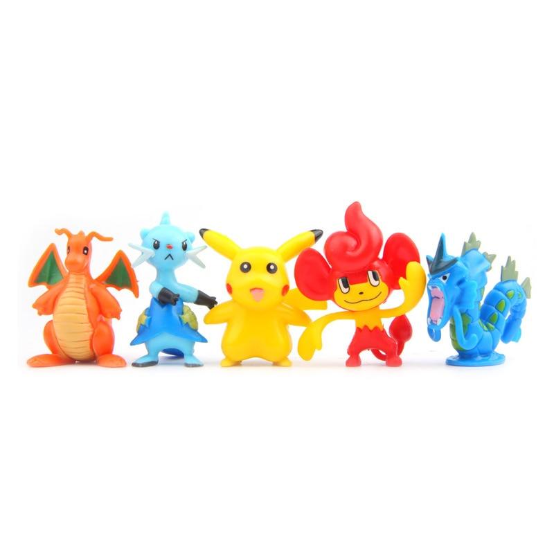 100pcs Mini Kawaii Pikachu Different Styles Fairy Garden Miniatures Figurine DIY Micro Landscape Doll Home Decor Accessories in Figurines Miniatures from Home Garden