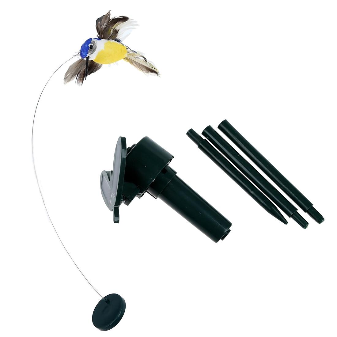 Solar Powered Fliegen Flatternde Hummingbird Flying Birds Farbe Kinder Spielzeug Zufall