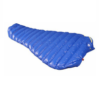 AEGISMAX Brand Ultralight Outdoor Mummy White Goose Down Camping Hiking Sleeping Bag Spring And Autumn Saco