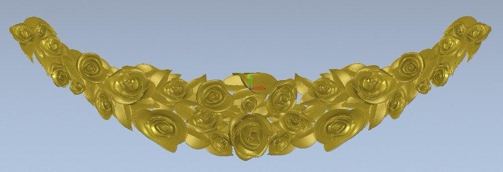 Relief 3d STL Models For CNC, Artcam, Aspire, Decor-B167