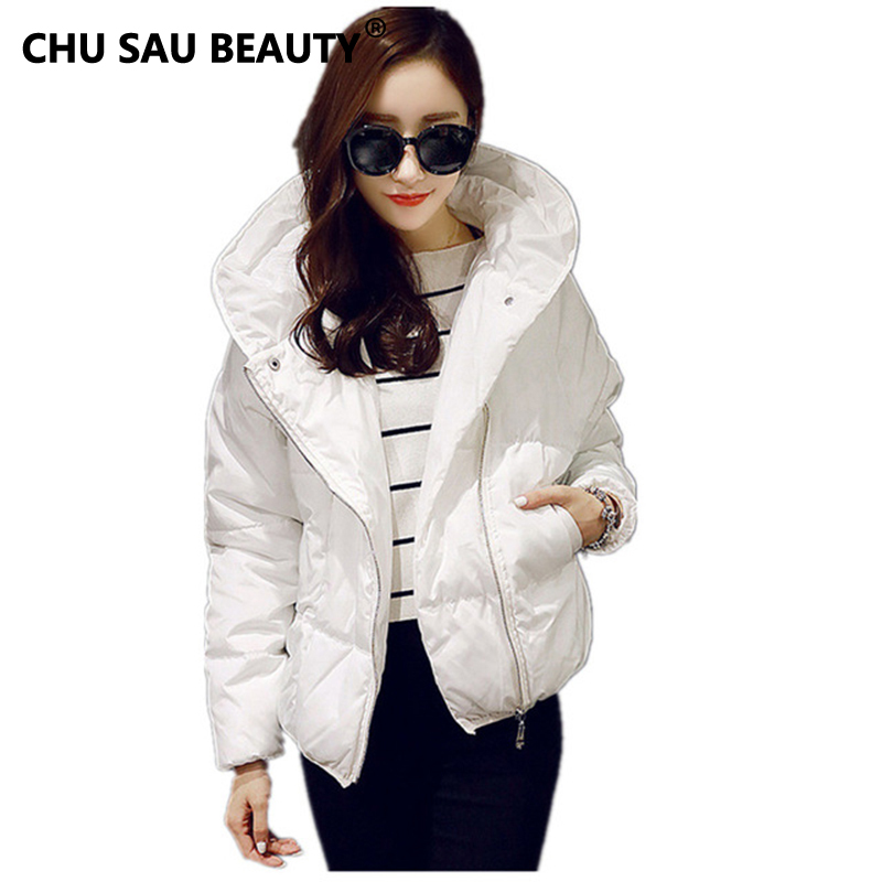 Winter Jacket Women 2016 New Women coat Casual Outwear Hooded Cotton Padded Jacket Short paragraph jaqueta