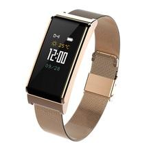 Купить с кэшбэком B15 Smart Watch metal multi-color wristband Waterproof bluetooth Sport Bracelet Blood Pressure Color Screen Fitness Tracker