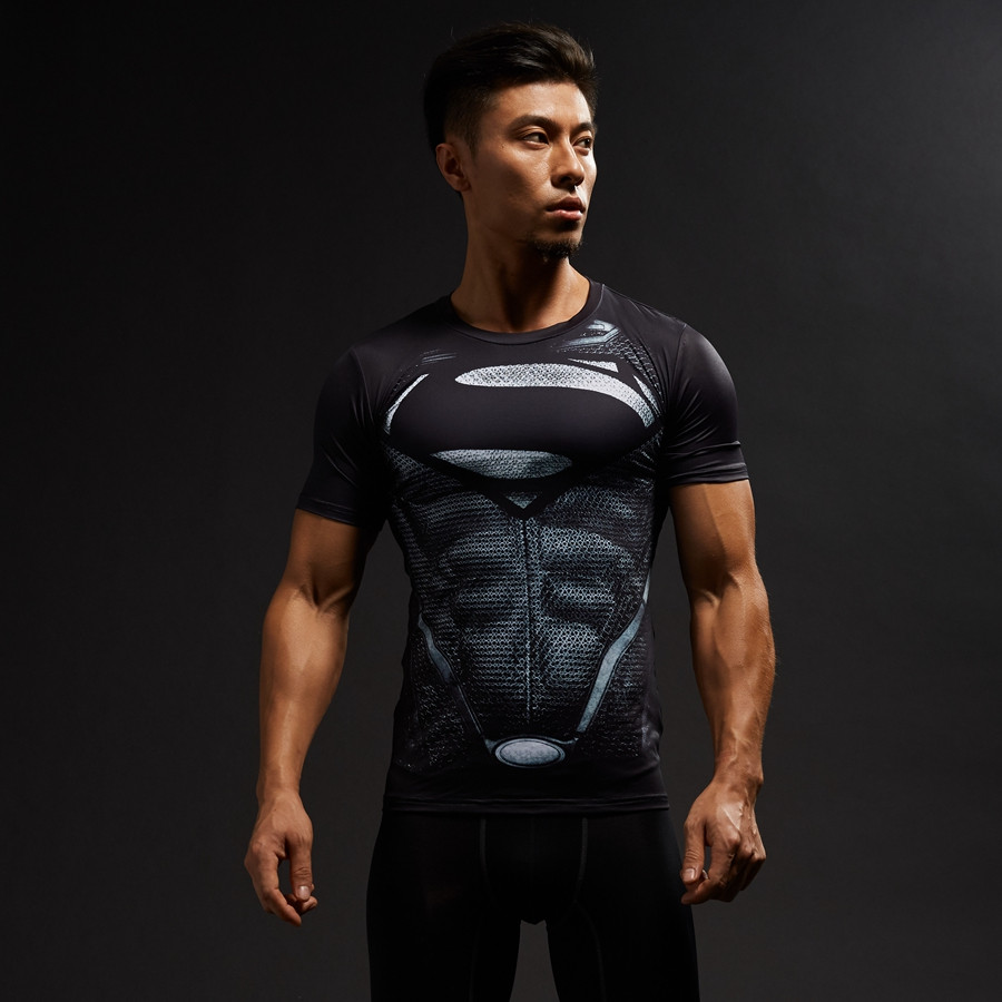 8005 superman 3D printed Shirts