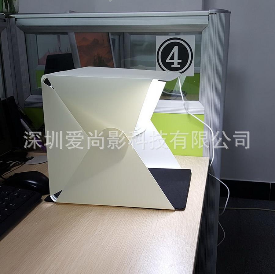 Consumer Electronics Reasonable Jmfoto 24cm Mini Folding Lightbox Photography Studio Softbox Led Light Soft Box Camera Photo Background Box Lighting Tent Kit