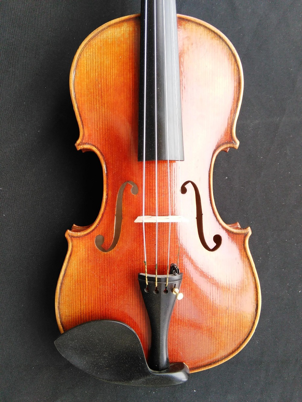 High Quality Hand Made Violin 4/4 European wood Spruce top Maple Back Ebony parts M9003 one 4 string 4 4 violin electric violin acoustic violin maple wood spruce wood big jack green color
