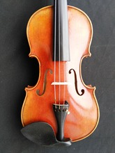 цена на High Quality Hand Made Violin 4/4 European wood Spruce top Maple Back Ebony parts