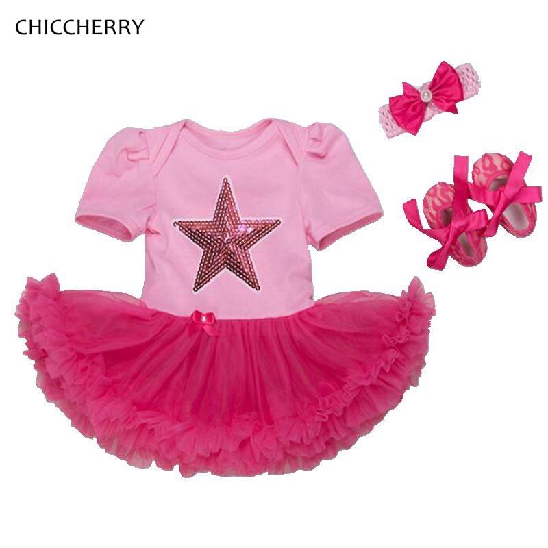 Mother & Kids Lace Vestidos Infantil Girl Set Fly Sleeve Easter Eggs Bodysuit Tutu Skirt Headband 3pcs Toddler Newborn Baby Princess Outfits Girls' Baby Clothing