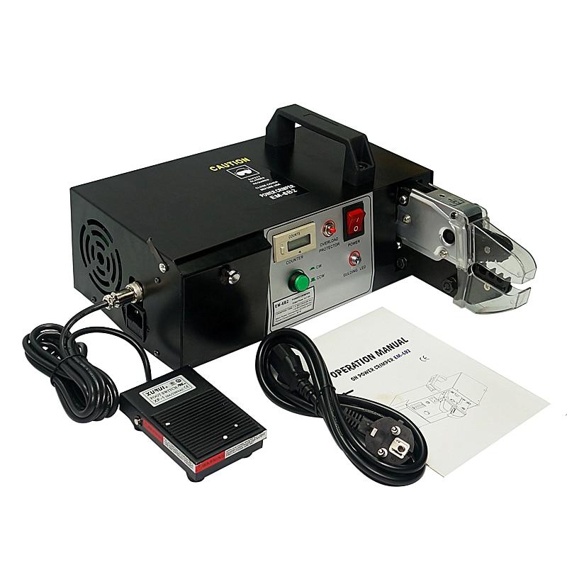 EM-6B2 Elétrica Máquina de Friso Do Terminal com & função de Decapagem Incluem 7 peças Do Molde