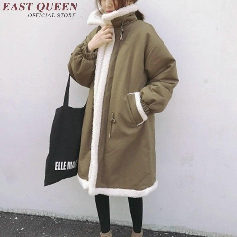 Veste 2018 Manteau Printemps Nouveau Pour Parka H Hiver Parkas 2 Moyen long 1 Kk1811 Chaud D'hiver Femmes Fggqtx