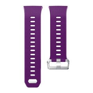 Image 5 - ZENHEO наручный ремешок для Fitbit ионизированный спортивный ТПУ силиконовый сменный ремешок на запястье для Fitbit ионизированные Ремешки для наручных часов