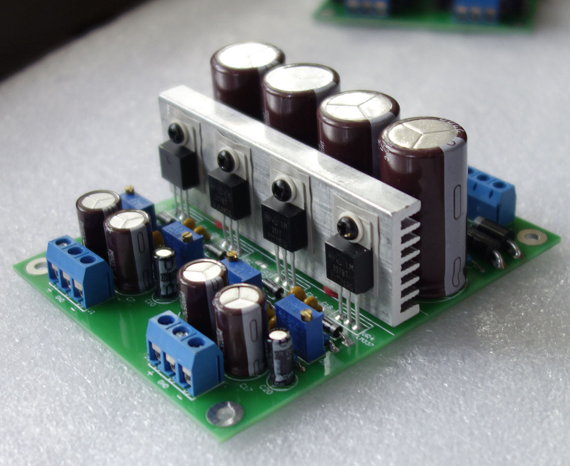 Lm317 Lm337 Positive And Negative Adjustable Multichannel Voltage Linear Power Supply Regulated Board Dac