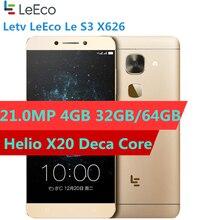 Original Letv LeEco Le S3 X626 4G LTE Smart Phone Helio X20 Deca Core 5.5