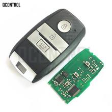 QCONTROL pilot samochodowy inteligentny klucz garnitur dla KIA K5 sportage sorento P N 95440-3W600 tanie tanio Vehicle Control Alarm ID46 PCF7952 433MHz 433 MHz Keyless Entry Transmitter Assy CHINA ID46 (7952) Yes (uncut)