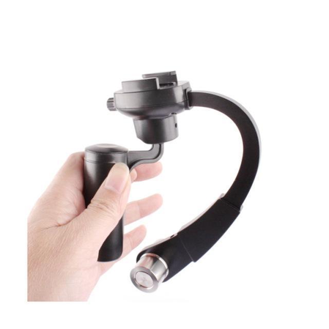 Mini Handheld Video Gimbal Stabilizer Steadicam Curve For GoPro CameraHero Series SJCam EKEN Yi Other Sport Action Camera