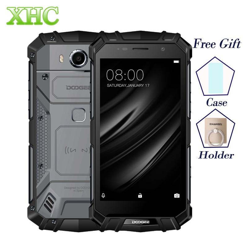 DOOGEE S60 LITE IP68 Waterpoof Handys 5,2 ''5580 mAh 4 GB 32 GB MT6750T NFC Android 7.0 Drahtlose Lade Dual SIM Smartphones