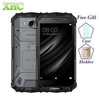 DOOGEE S60 LITE IP68 Waterpoof Mobiele Telefoons 5.2 ''5580 mAh 4 GB 32 GB MT6750T NFC Android 7.0 Draadloze lading Dual SIM Smartphones