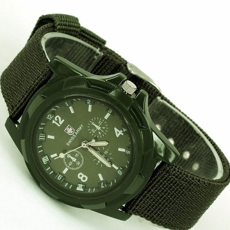 2019 drop shipping Men Nylon band Military watch Gemius Army watch High Quality Quartz Movement Men sports watch Casual wristwatches (8)