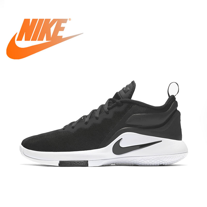 fa480f3df1e Original Authentic NIKE LEBRON WITNESS II EP Lightweight Support Men s  Basketball Shoes Breathable Low Top Sneakers Cozy AA3820-in Basketball Shoes  from ...