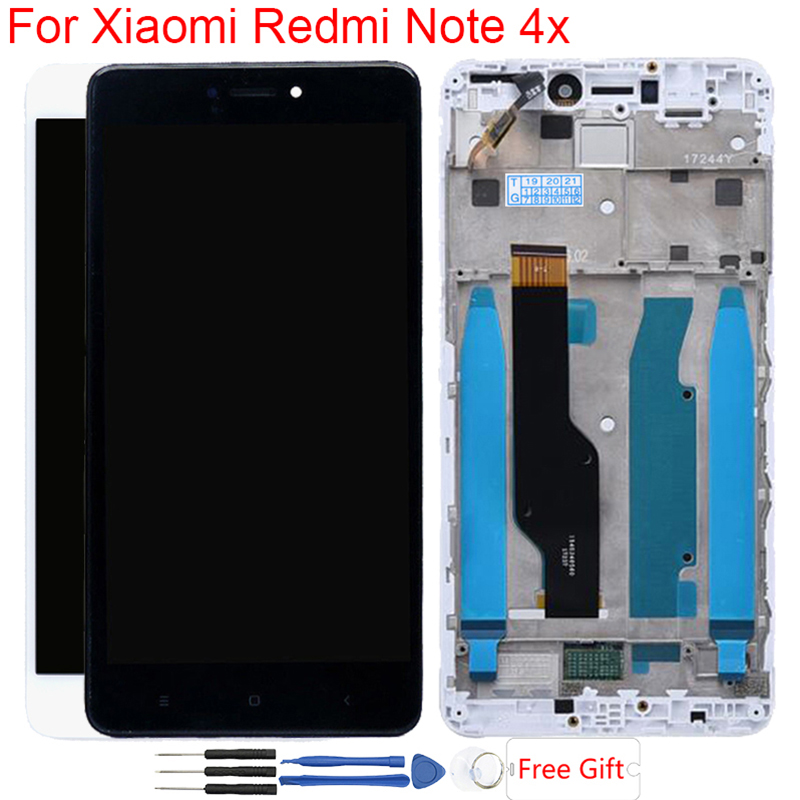LCD Screen For Xiaomi Redmi Note 4X Original Display With Frame Touch Screen LCD For Redmi Note 4 Global Version Snapdragon 625LCD Screen For Xiaomi Redmi Note 4X Original Display With Frame Touch Screen LCD For Redmi Note 4 Global Version Snapdragon 625