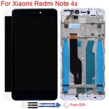 ЖК-экран для Xiaomi Redmi Note 4x Оригинальный дисплей с рамкой сенсорный экран ЖК-дисплей для Redmi версия 4 глобальная версия Snapdragon 625